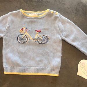 Hartstrings blue bicycle sweater